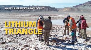 Exploring Argentina Lithium & Energy's 20,500-hectare Arizaro Project in northwest Argentina. Photo courtesy Argentina Lithium & Energy Corp.